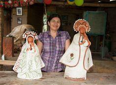 Rosa María Jerez, la artesana que creó el regalo del Papa