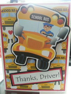 Thank You to Bus Driver