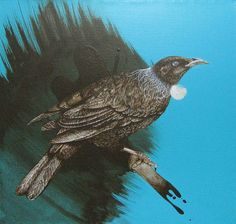 Jermaine Reihana Acrylic on canvas 2009 Nz Art, Maori Art, Bird Art, Bald Eagle, Art Inspo, Sculpture Art, Printmaking, New Zealand, Animals