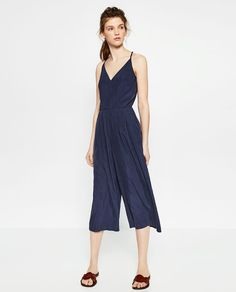 Image 1 of CROPPED JUMPSUIT from Zara