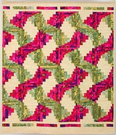 Patchwork, Quilting and Craft Workshops and Retreats: Fantastic Retreat with Jan Hassard Log Cabin Patchwork, Log Cabin Quilt Pattern, Log Cabin Quilts, Édredons Cabin Log, Log Cabins, Quilt Block Patterns, Quilt Blocks, Scrappy Quilts, Patchwork Quilting