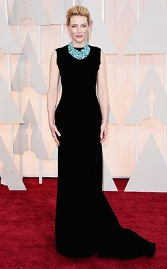 Oscars 2015 Red Carpet: Who's Wearing What | Cate Blanchett | EW.com