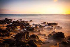 "Digital photography - Hawaii / Kauai ""Fairy-like sunset"" by ShinavaPhotography on Etsy"