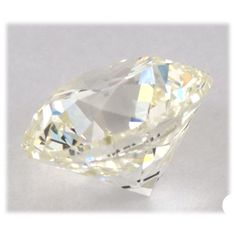 0.43 Carat Fancy Light Yellow Loose Diamond Natural Color Round Cut Diamond