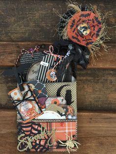 Lorrie's Story: Halloween Loaded Bag / Flip Bag with Tutorial