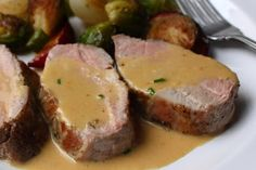 This roasted pork recipe is the first meat dish I remember learning in culinary school. It was demonstrated by a German chef at the Hotel...