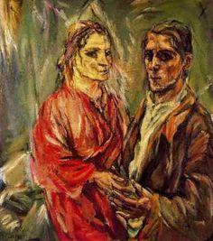 Le couple, par Oskar Kokoschka