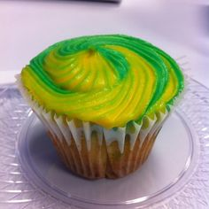 Mountain Dew Cupcakes With Frosting