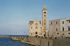 Trani's cathedral and pier