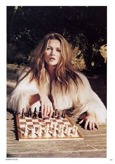 Check Mate! Kate Moss rules always wins!