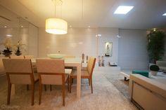 Apartamento, em João Pessoa, integra ambientes com estilo moderno - Casa