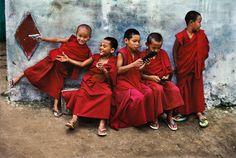 Inde. Photo de  Steve McCurry (1950) photographe américain. Membre de l'Agence Magnum depuis 1986. Toutes ses photos sont superbes !
