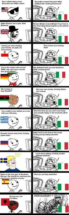 Poor Italy