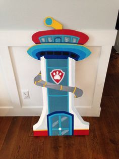 Paw Patrol Lookout! This is sure to be the hit of my son's birthday party!