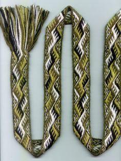 Beautiful tablet woven belt