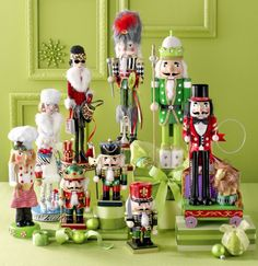 Pier 1 Nutcrackers come in all shapes and sizes to match any personality