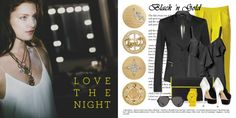 Adore being bold? Wear black and gold! -xx-