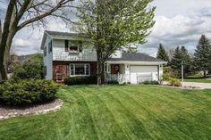 **SOLD** 13975 W Crawford DR, NEW BERLIN, WI; $245,000, MLS#1476178. This well maintained, 3BDR/2.5BA colonial in Greenridge subdivision boasts LRG patio & private backyard. Main level feat. L-shaped Living/Dining RM area, a family room w/ a gas fireplace & a kitchen w/ dinette. Upstairs you'll find master bedrm w/ walk-in closet, 2 additional bedrms & LRG full bath. Lower level Rec RM w/full BA provides 3rd space for entertaining or relaxing. Newer roof, along w/ 1 year Home Warranty
