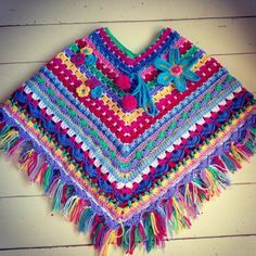 beautiful ponchos for girls - Google Search