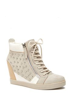 N.Y.L.A. Dupree - Not usually into wedge heel sneaks, but these are pretty cute!