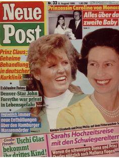 "Sarah Ferguson ""Neue Post"" (Nr.33 vom 8.8.1986)"