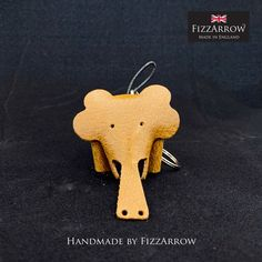 Split Ring, Key Rings, Hand Stitching, Brown And Grey, Elephant, Snoopy, Charmed, Colours, Leather
