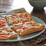 Grilled Tomato-Rosemary Tart Recipe | MyRecipes.com