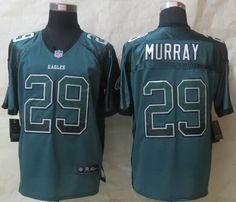 Nike Philadelphia Eagles #29 DeMarco Murray Drift Fashion Green Elite Jersey