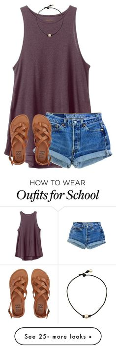 """Country tag!"" by ponyboysgirlfriend on Polyvore featuring RVCA, Levi's, Billabong, bathroom and country"