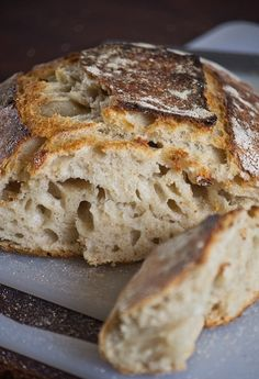 Tartine Bread: Basic Country Loaf (via Life Love Food) Pastry Recipes, Bread Recipes, Baking Recipes, Pan Bread, Bread Baking, Rustic Bread, Our Daily Bread, Bread And Pastries, Artisan Bread