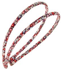 """Check out the L. Erickson USA 1/4"""" Double Skinny Ultracomfort Headband - Petite Fleur at France Luxe"""
