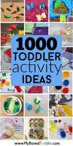 Toddler Activities To Do At Home easy toddler activity ideas that parents can do at home – great activities for toddlers or preschoolers – hands on learning perfect for one year olds, two year olds and three year olds. Toddler Books, Toddler Play, Toddler Preschool, Toddler Crafts, Kids Crafts, Educational Activities For Toddlers, Infant Activities, Preschool Activities, Indoor Toddler Activities