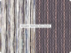 Nancy Straughan is a textile designer who creates these wonderful patterns and textures for fabrics, homewares, fashion and wallpaper.