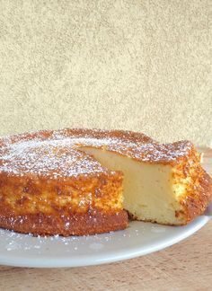 La recette du Fameux Gâteau au fromage blanc , épais et léger !
