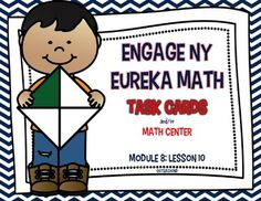 This product is intended to be a companion to Engage NY/ Eureka Math (which are the same). 20 Task Cards to Review Engage NY/ Eureka Math from Module 8: Lesson 10.This product can be used for:        -Math Centers-Task Cards -Early Finishers-Small Group-Interventions to review lessonsI use these as task cards to review each lesson after I have taught the lesson.