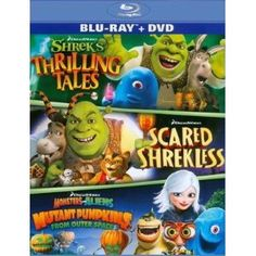 DreamWorks Spooky Stories (Two-Disc Blu-ray/DVD Combo): Disclosure : affiliate link