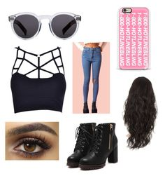 """""""Late night out"""" by hayden-neuman on Polyvore featuring Illesteva and Casetify"""