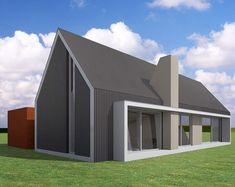 Deze duurzaam ontworpen moderne schuurwoning (143m2) heeft 2 bouwlagen. Op de begane vloer een royale living in directe verbinding met de ruime leefkeuken.