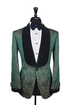 Gold Tuxedo Jacket, Black Velvet Jacket, Mens Evening Wear, Men's Tuxedo Styles, Custom Tuxedo, Double Breasted Waistcoat, Mens Fashion Suits, Men's Fashion, Stylish Mens Outfits