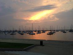 Aug 2014 sailboats … bike ride