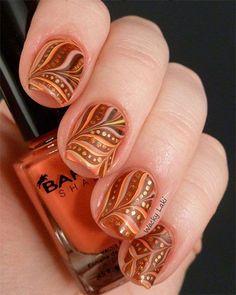 Nail Art Ideias Outono