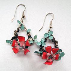 #diy #nailpolish #nailpolishflowers #jewellery #floraljewellery #flower #recycle…