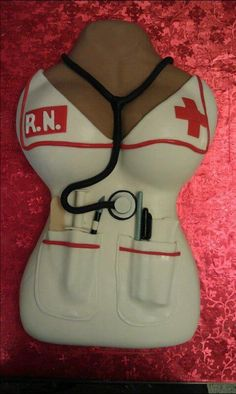 Nurse cake... Anise would love this lol