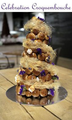 """A Step By Step Guide on How to Make A Celebration Croquembouche With Patisse from Not Quite Nigella: """"Lorraine Elliott, a cake and food enthusiast who believes that cakes belong in an art gallery...In April 2013, her memoir called """"Not Quite Nigella"""" was released by Penguin Books.Not Quite Nigella has 250,000 unique readers a month and over 500,000 page views a month."""""""