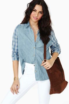 $68 Dixie Denim Shirt