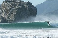 Surfing Witch's Rock