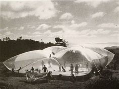 """Ant Farm """"Pillow"""" Freestone Gathering, California 1970"""