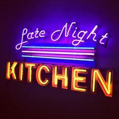 'Late night kitchen'