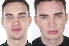 A really handy video for natural makeup for men application. https://www.youtube.com/watch?v=wR7ICA7QPOk