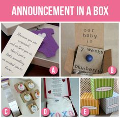 50 Creative Pregnancy Announcements - The Dating Divas Baby Shower Gender Reveal, Baby Gender, Baby E, Baby Kids, Creative Pregnancy Announcement, Pregnancy Announcements, Baby On The Way, Baby Makes, Everything Baby